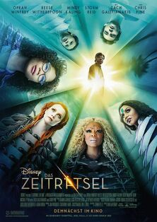 Disney's A Wrinkle in Time 2018 German Poster