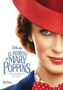 Disney's Mary Poppins Returns European Spanish Teaser Poster