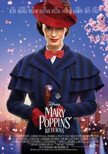 Disney's Mary Poppins Returns Poster 2