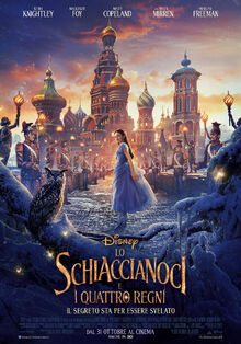 Disney's The Nutcracker and the Four Realms Italian Poster