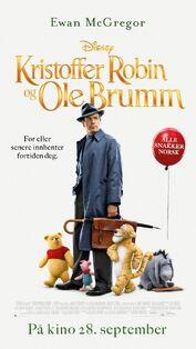 Disney's Christopher Robin Norwegian Poster
