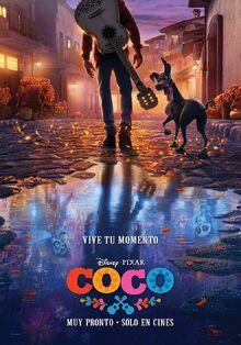 Pixar's Coco Spanish Teaser Poster 2