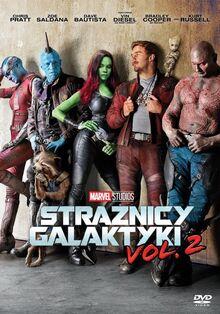 Marvel Studios' Guardians of the Galaxy Vol. 2 Polish DVD Poster