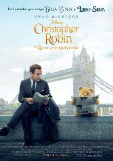 Disney's Christopher Robin Latin American Spanish Poster 2