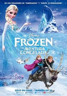 Frozen Latin Spanish Poster 1