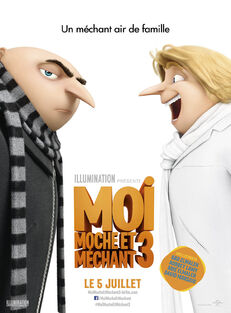 Despicable Me 3 European French Poster