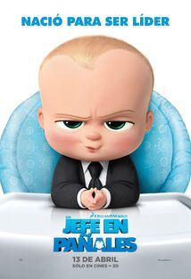 The Boss Baby Latin American Spanish Poster