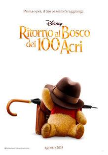 Disney's Christopher Robin Italian Teaser Poster