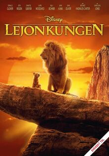 Disney's The Lion King 2019 Swedish DVD Poster
