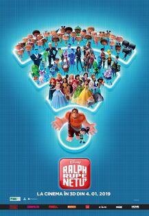 Disney's Ralph Breaks the Internet Romanian Poster