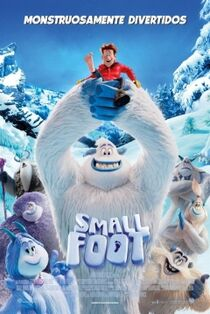 Smallfoot European Spanish Poster