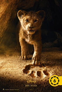 Disney's The Lion King 2019 Hungarian Teaser Poster