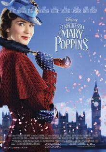 Disney's Mary Poppins Returns European Portuguese Poster