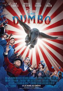 Disney's Dumbo 2019 European French Poster