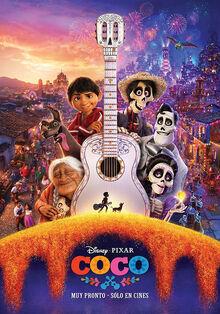 Pixar's Coco Spanish Poster