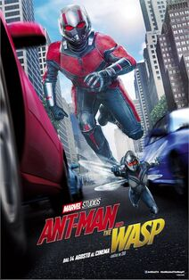 Ant-Man and the Wasp Italian Poster