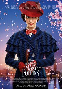 Disney's Mary Poppins Returns Italian Poster