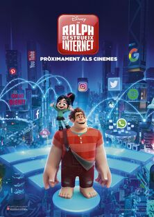 Disney's Ralph Breaks the Internet Catalan Poster