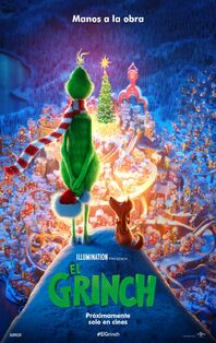 The Grinch Latin American Spanish Poster