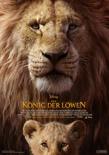 Disney's The Lion King 2019 German Poster