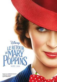 Disney's Mary Poppins Returns European French Teaser Poster