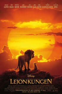 Disney's The Lion King 2019 Swedish Poster