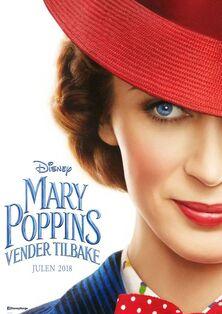 Disney's Mary Poppins Returns Norwegian Teaser Poster
