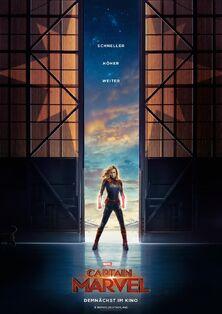 Marvel Studios' Captain Marvel German Teaser Poster