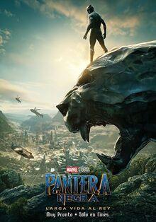 Marvel Studios' Black Panther Latin American Spanish Teaser Poster