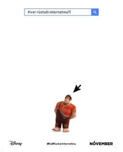 Disney's Ralph Breaks the Internet Icelandic Teaser Poster