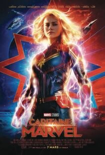 Marvel Studios' Captain Marvel Canadian French Poster