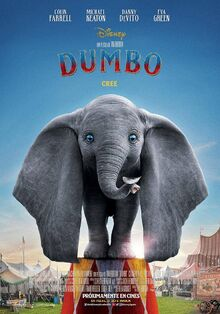 Disney's Dumbo 2019 European Spanish Poster 2