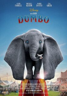 Disney's Dumbo 2019 European French Poster 2