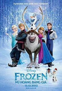 Frozen Vietnamese Poster