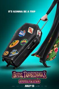 Hotel Transylvania 3 Summer Vacation Teaser Poster 2