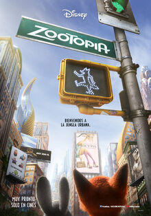 Disney's Zootopia Latin American Spanish Teaser Poster