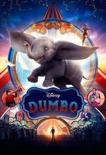 Disney's Dumbo 2019 International Poster