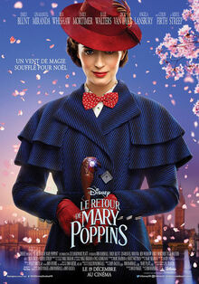 Disney's Mary Poppins Returns European French Poster 2