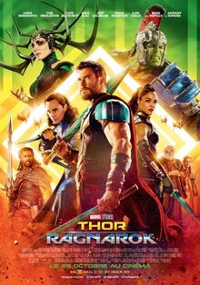 Marvel Studios' Thor Ragnarok European French Poster