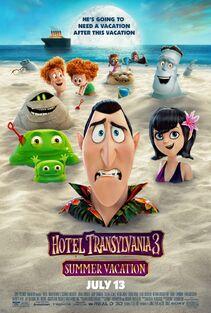 Hotel Transylvania 3 Summer Vacation Poster
