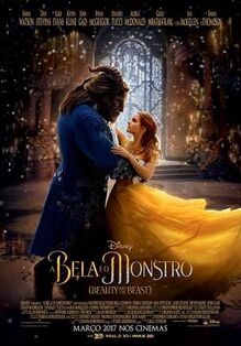 Disney's Beauty and the Beast 2017 European Portuguese Poster 3