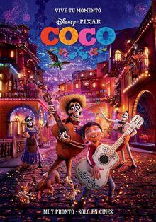 Pixar's Coco Spanish Poster 3