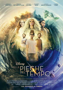 Disney's A Wrinkle in Time 2018 Italian Poster