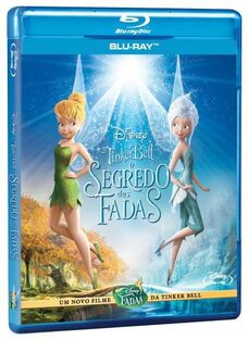 Disney's Tinker Bell and the Secret of the Wings Brazilian Portuguese Blu-ray Poster