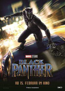 Marvel Studios' Black Panther German Poster