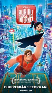 Disney's Ralph Breaks the Internet Swedish Poster