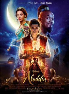 Disney's Aladdin 2019 European French Poster