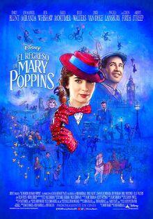 Disney's Mary Poppins Returns European Spanish Poster