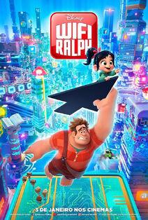 Disney's Ralph Breaks the Internet Brazilian Portuguese Poster