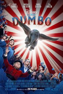 Disney's Dumbo 2019 Canadian French Poster